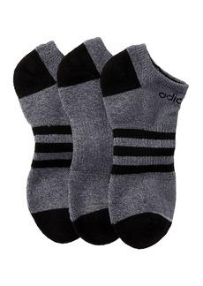 Adidas 3-Stripe Low Cut Socks - Pack of 3