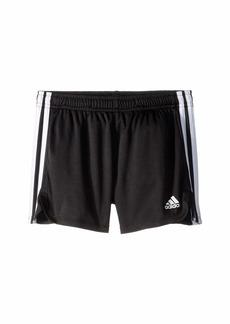Adidas 3-Stripe Mesh Shorts (Big Kids)