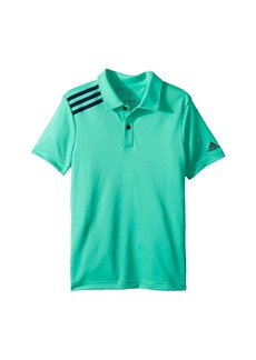 Adidas 3 Stripe Polo (Big Kids)