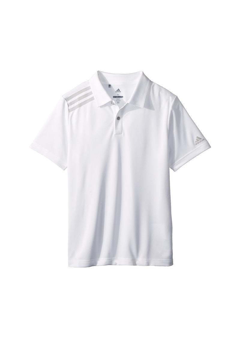 Adidas 3 Stripe Polo (Big Kids)