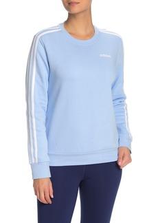 Adidas 3 Stripe Pullover Sweater