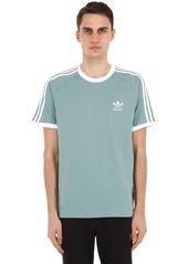 Adidas 3-stripes Cotton Jersey T-shirt