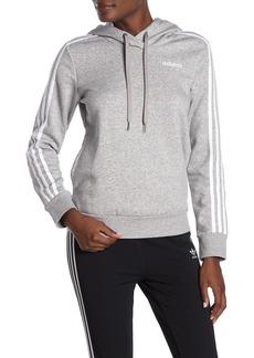 Adidas 3-Stripes Drawstring Hoodie