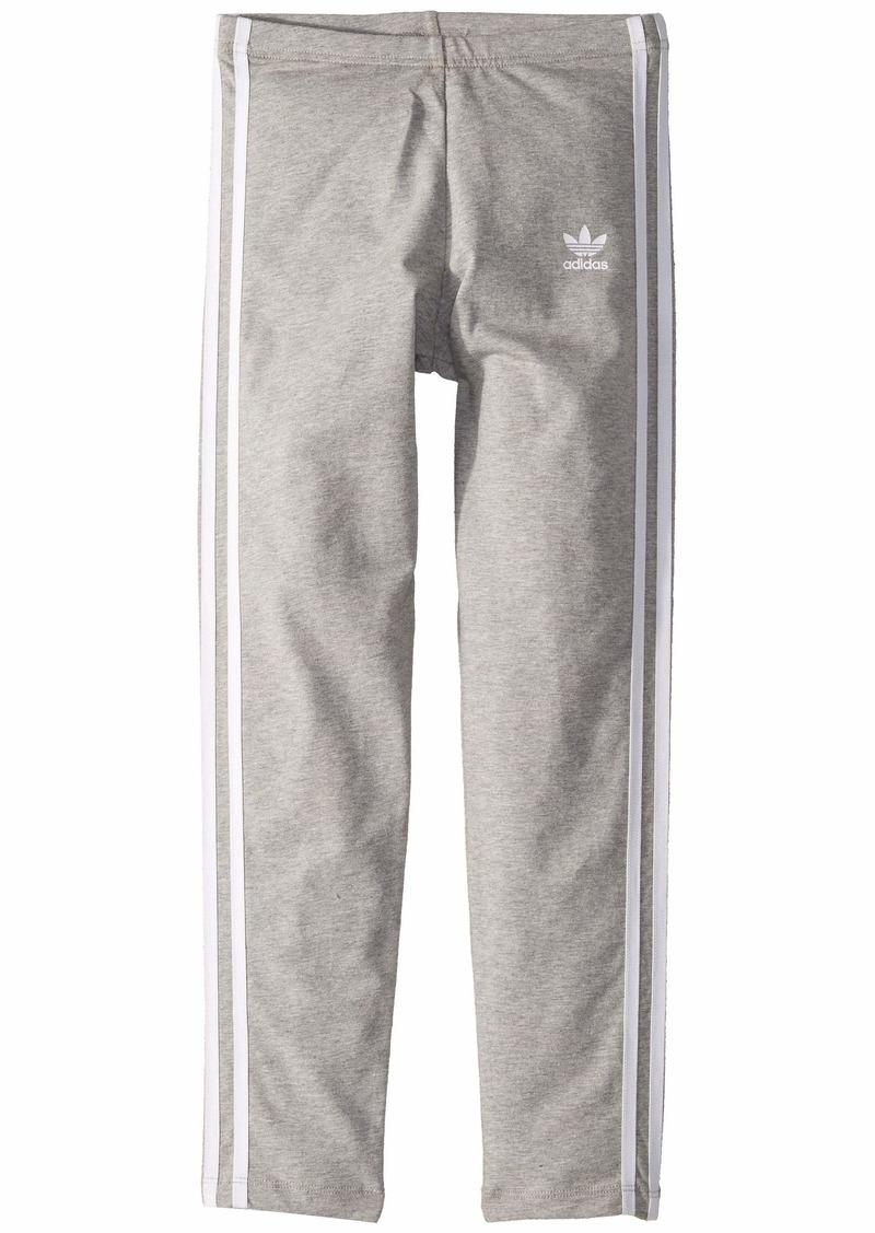 Adidas 3-Stripes Leggings (Little Kids/Big Kids)
