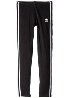Adidas 3-Stripes Leggings (Little Kids/Big Kids)