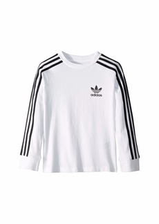 Adidas 3-Stripes Long Sleeve (Little Kids/Big Kids)