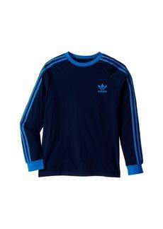 Adidas 3-Stripes Long Sleeve (Little Kids/Big Kids)