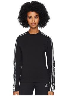 Adidas 3 Stripes Long Sleeve Tee