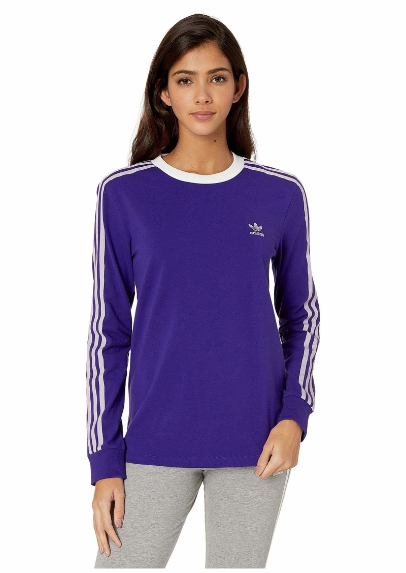 Adidas 3-Stripes Long Sleeve Tee