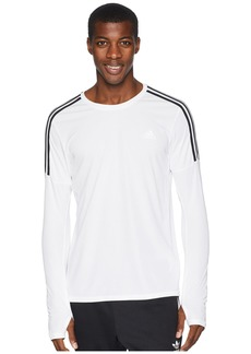 Adidas 3-Stripes Run Long Sleeve Tee