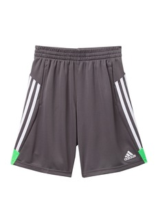 Adidas 3 Stripes Shorts (Big Boys)