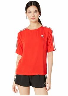 Adidas 3-Stripes Back-Zip Tee