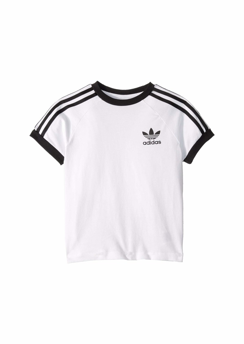 Adidas 3-Stripes Tee (Little Kids/Big Kids)