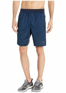"Adidas 4Kraft 9"" 3-Stripe Shorts"