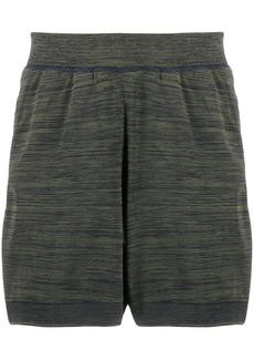 Adidas abstract print shorts