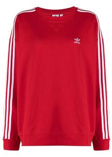 Adidas Adicolor oversized cotton sweatshirt