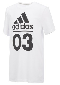 adidas 03-Print Cotton T-Shirt, Big Boys