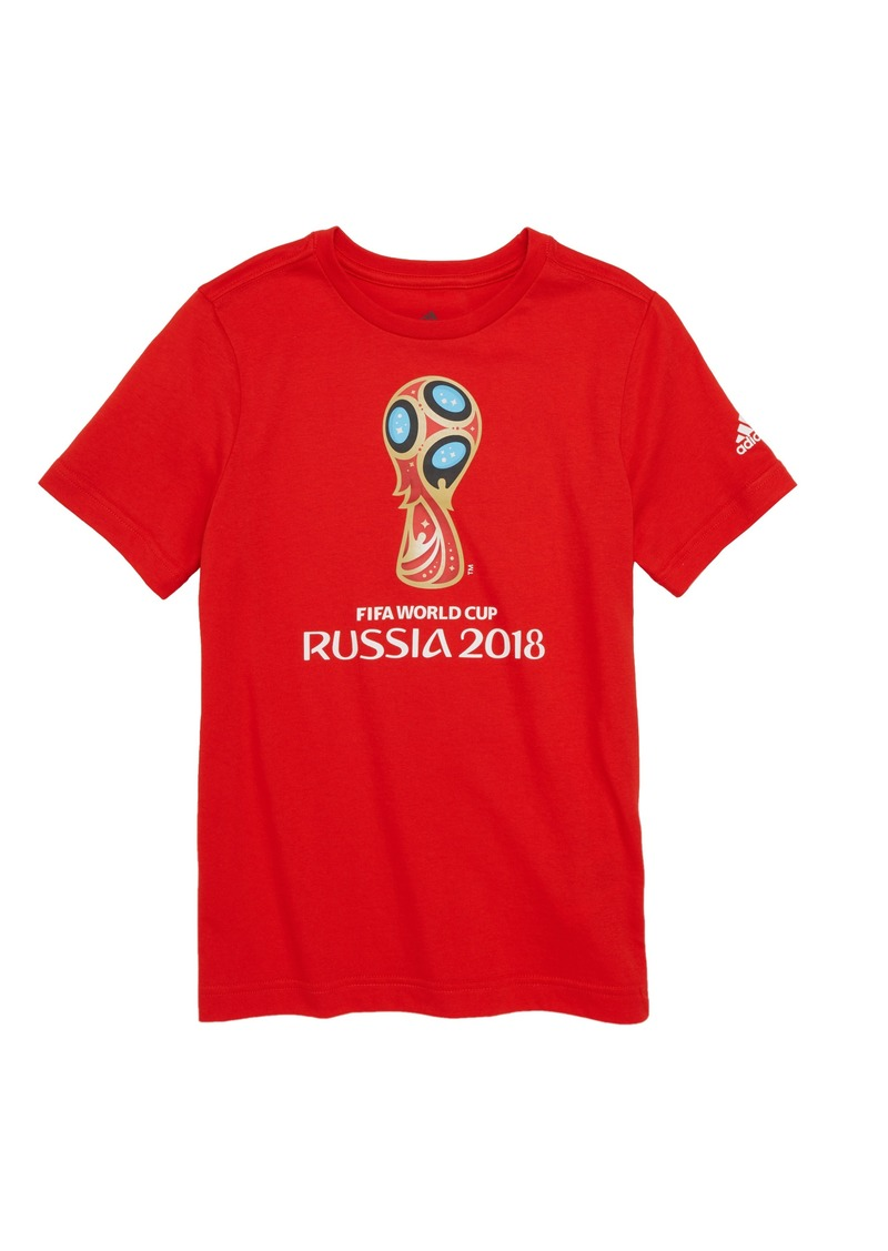 3877abc5b53 Adidas adidas 2018 FIFA World Cup Russia Soccer T-Shirt (Little Boys ...