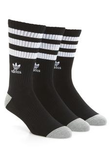 adidas Originals 3-Pack Original Roller Crew Socks