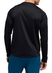 adidas 3-Stripe Climalite® Long Sleeve Performance T-Shirt