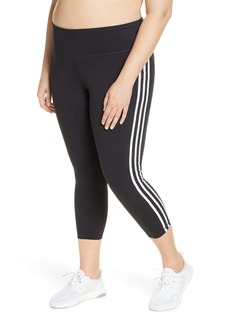 adidas 3-Stripes 7/8 Tights (Plus Size)
