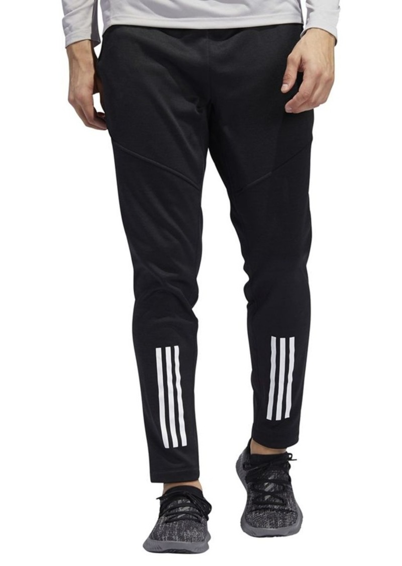 adidas 3 stripe fleece pants