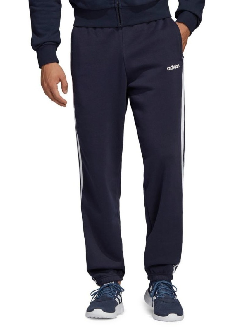 Adidas 3-Stripes Cotton-Blend Pants
