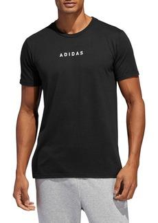 adidas 3-Stripes Detail T-Shirt
