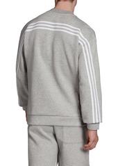 adidas 3-Stripes Double Knit Crewneck Sweatshirt