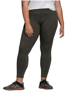 adidas 3-Stripes High Waist 7/8 Tights (Plus Size)