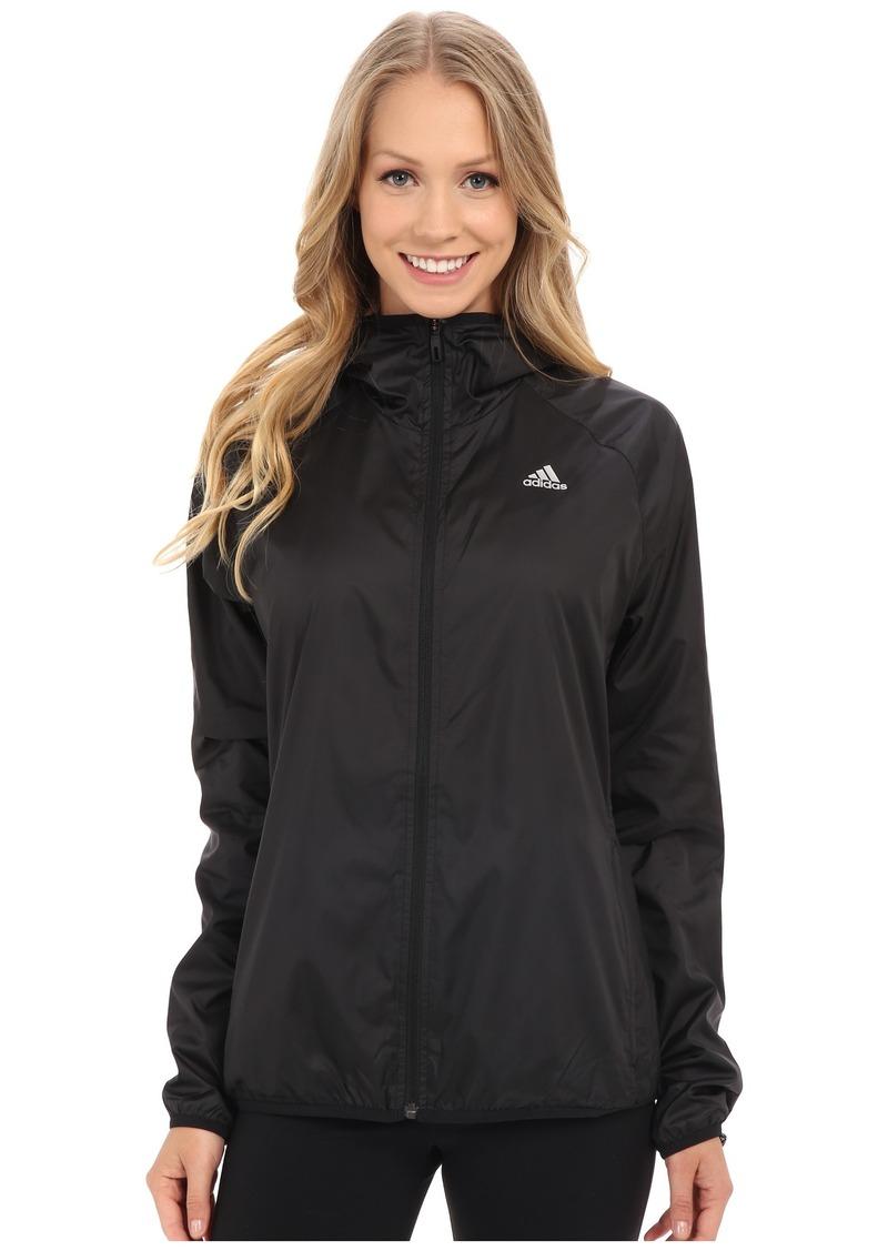 adidas 3-Stripes Hooded Woven Jacket