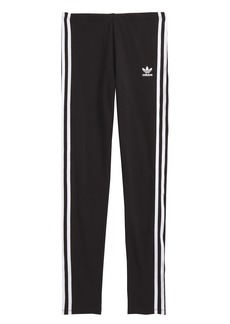 adidas 3-Stripes Leggings (Big Girls)