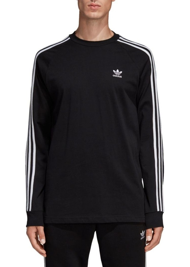 Adidas 3-Stripes Long-Sleeve Tee