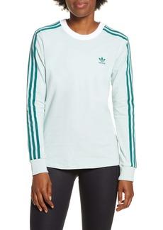 adidas 3-Stripes Long Sleeve Tee