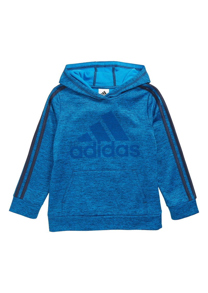adidas 3-Stripes Pullover Hoodie (Toddler Boys & Little Boys)
