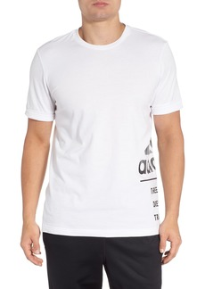 adidas 3-Stripes Wraparound Graphic T-Shirt
