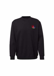 adidas 3D Trefoil Graphic Crewneck Sweatshirt