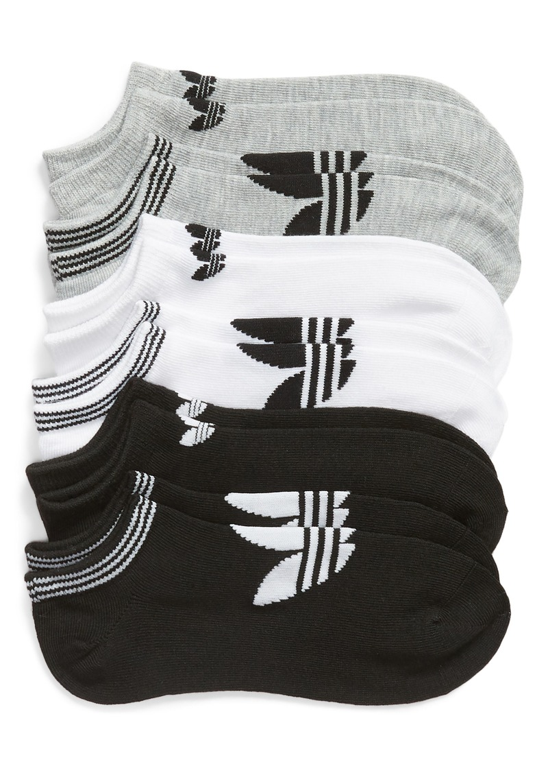 adidas 6-Pack No-Show Socks