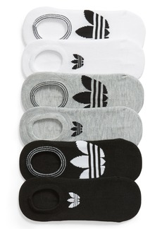 adidas 6-Pack Trefoil Superlite No-Show Socks