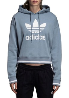Adidas Active Icon French Terry Cropped Hoodie
