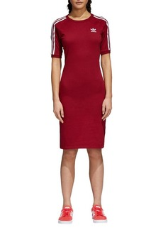 Adidas Adicolor Cotton Jersey T-Shirt Dress