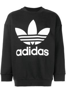Adidas Originals Trefoil oversized sweatshirt