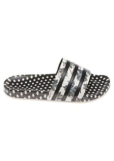 21d909b808d380 Adidas Adidas Adilette Floral and Polka Dot Slides