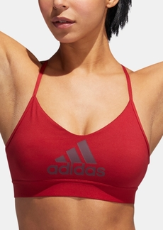 adidas All Me Bra Compression Racerback Light-Support Sports Bra