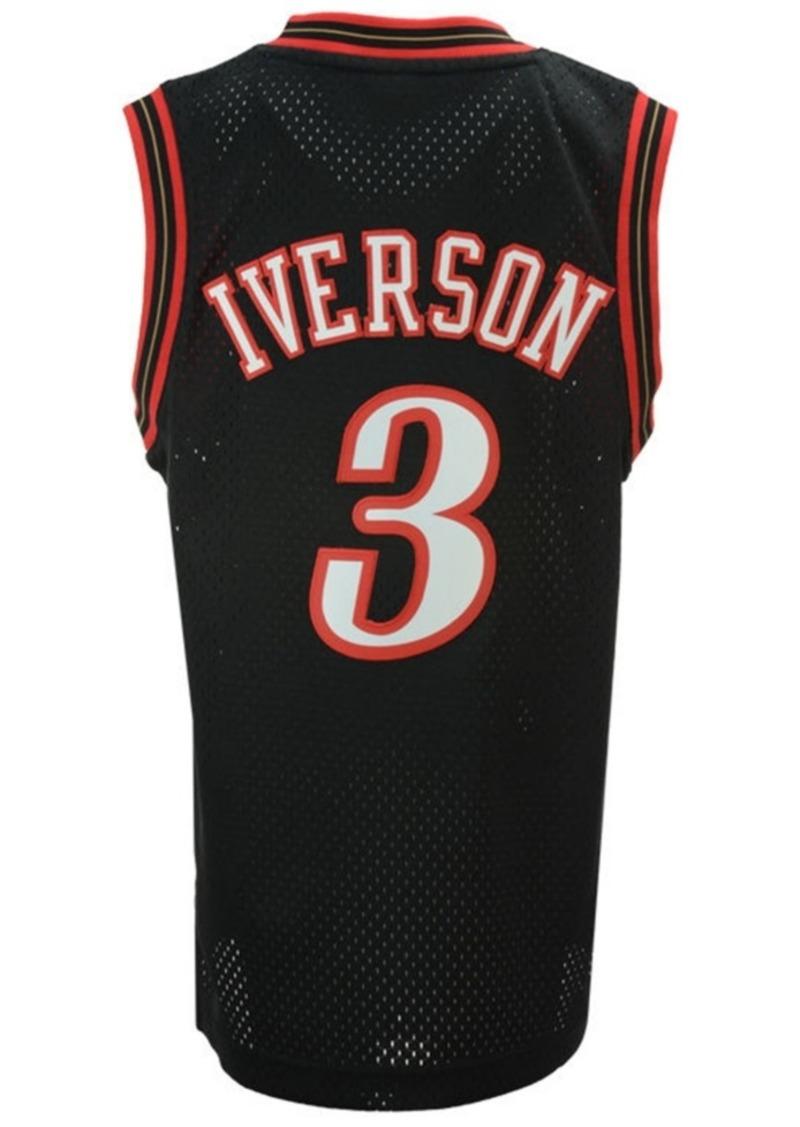 adidas Allen Iverson Philadelphia 76ers Retired Player Swingman Jersey, Big Boys (8-20)