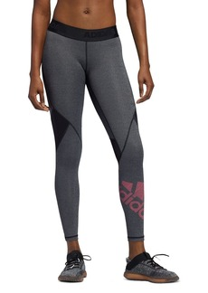 Adidas Alphaskin Badge Of Sport Leggings