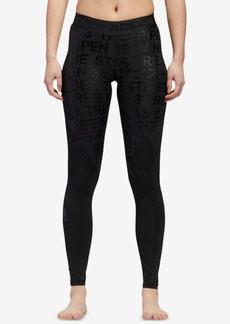 adidas Alphaskin ClimaLite Metallic-Print Leggings