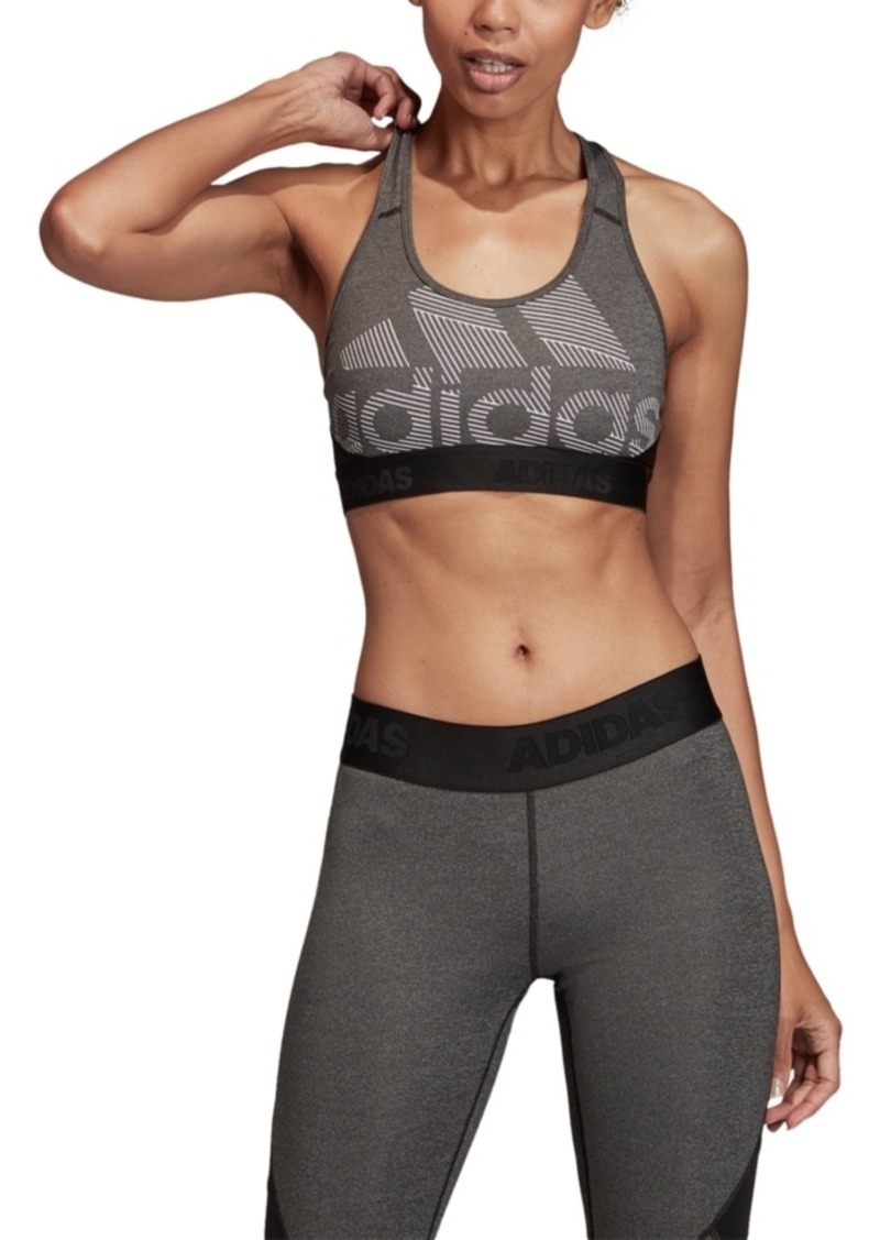 adidas Women's Alphaskin Racerback Sports Bra