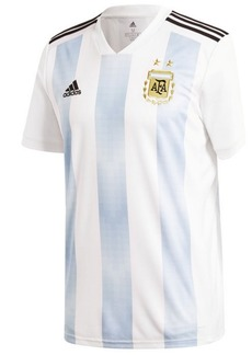 adidas Argentina National Team Home Stadium Jersey, Big Boys (8-20)