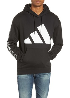 adidas Athletics Pack Logo Cotton Blend Hoodie